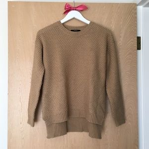 Forever 21 Waffle Knit High-Low Sweater